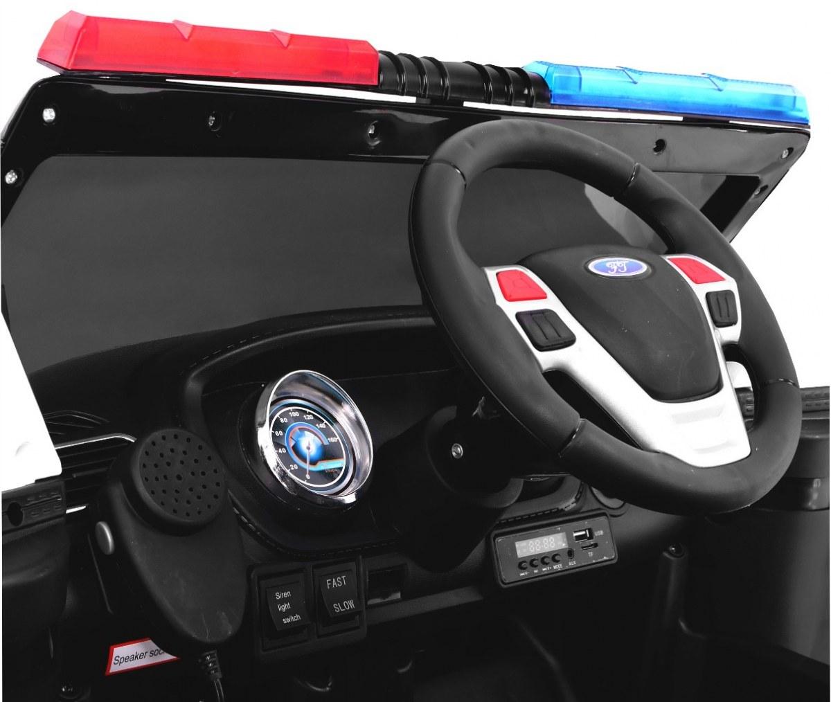 Elektrické autíčko policie USA, 2.4GHz