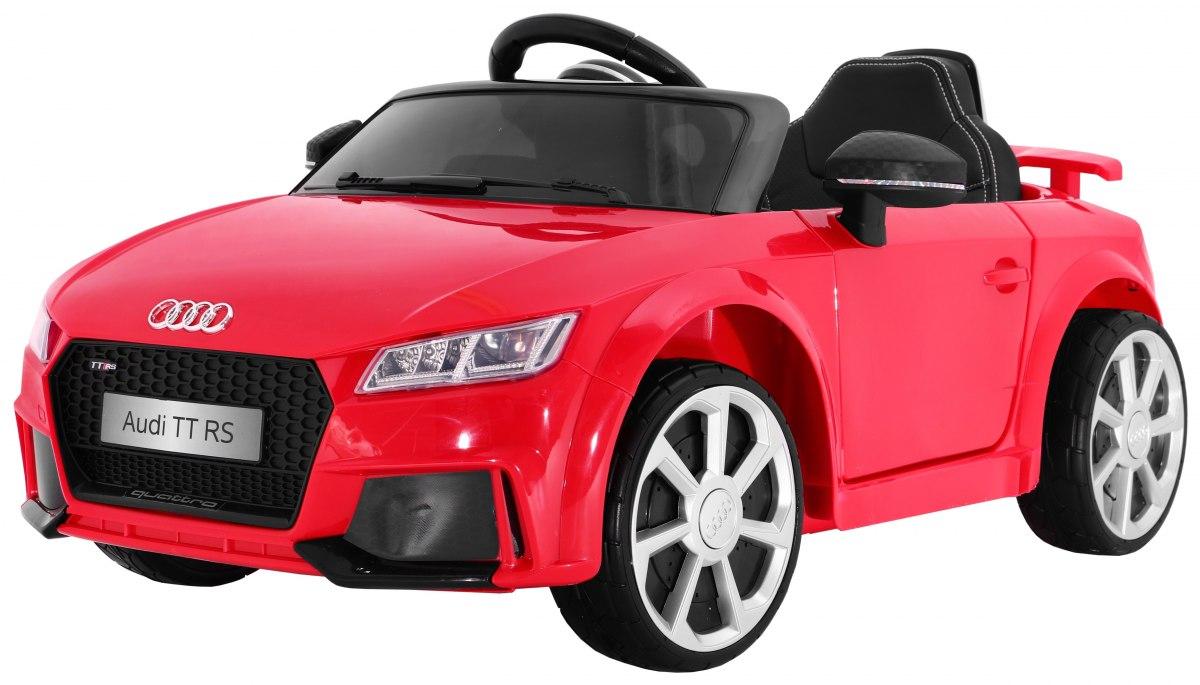 Ramiz Elektrické autíčko Audi TT RS - červené