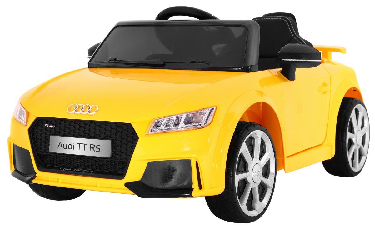 Ramiz Elektrické autíčko Audi TT RS - žluté