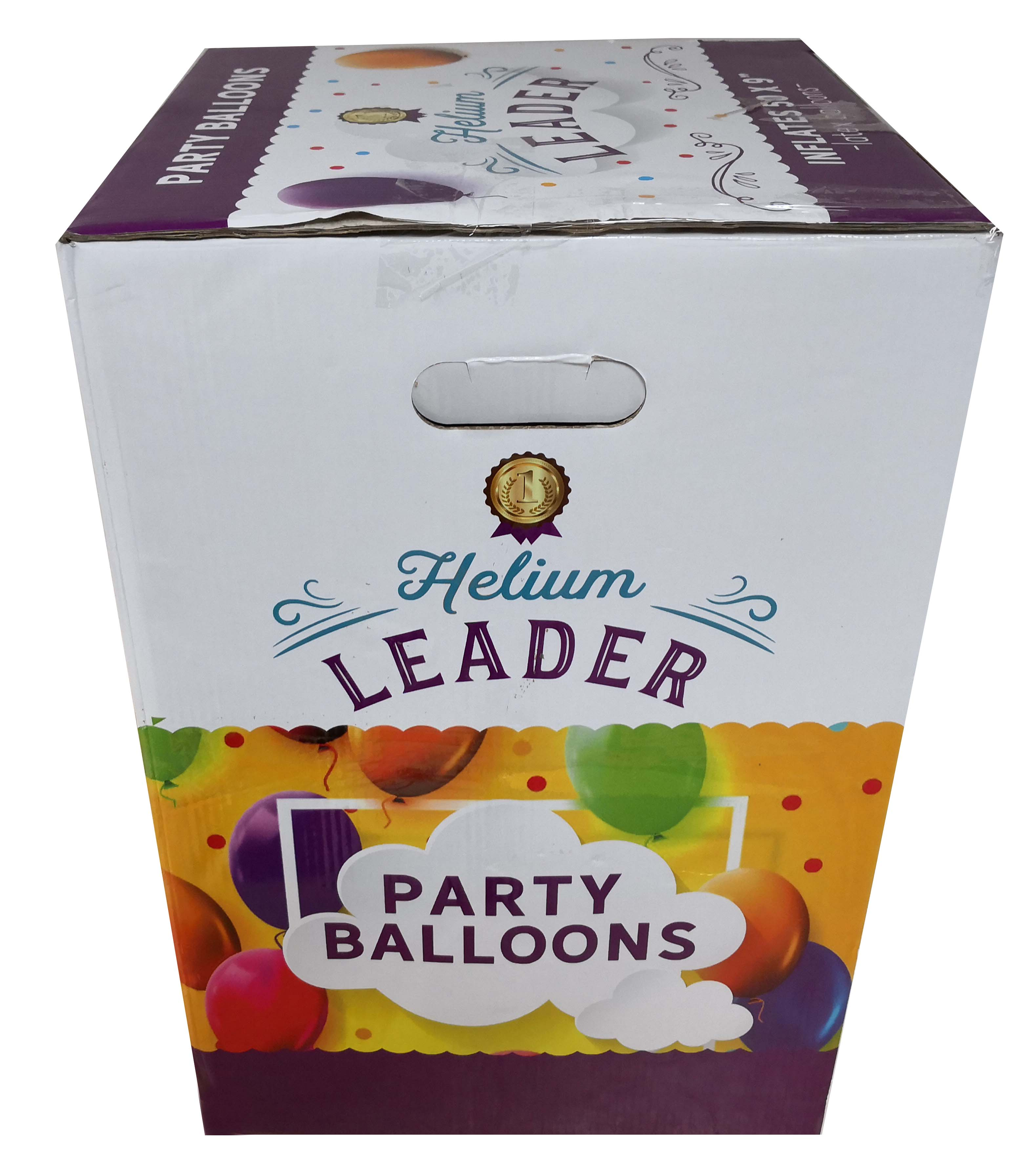 Helium do balónků s 50 balónky