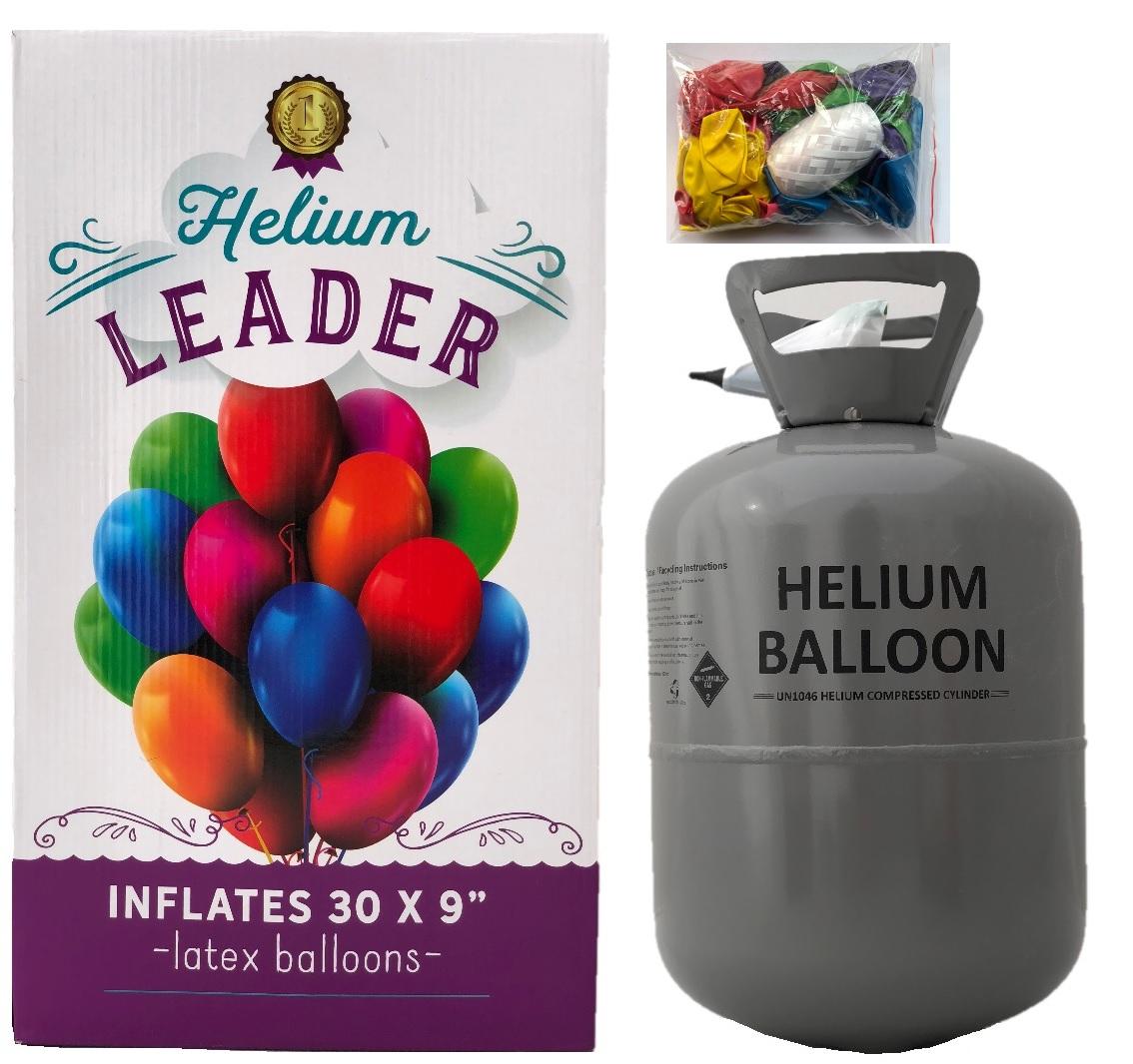Helium do balónků BigParty + 30 balónků