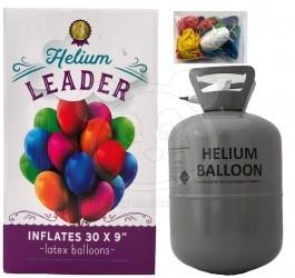 Helium do balónků s 30 balónky