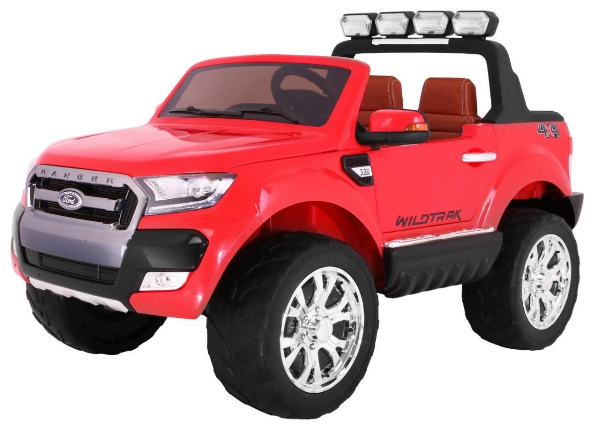 Elektrické autíčko Ford Ranger Wildtrak Luxury 2020, LCD - červené