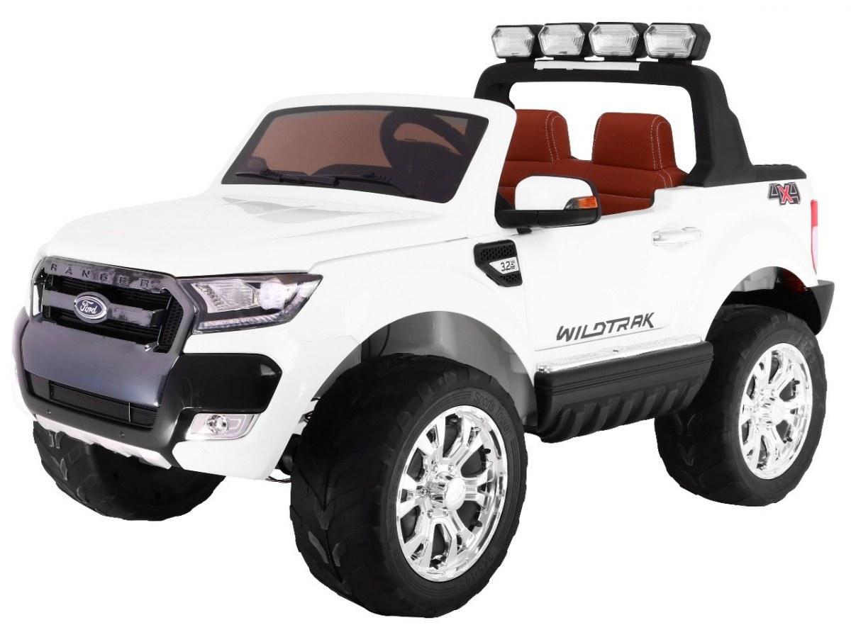 Elektrické autíčko Ford Ranger Wildtrak Luxury 2020, LCD - bílé