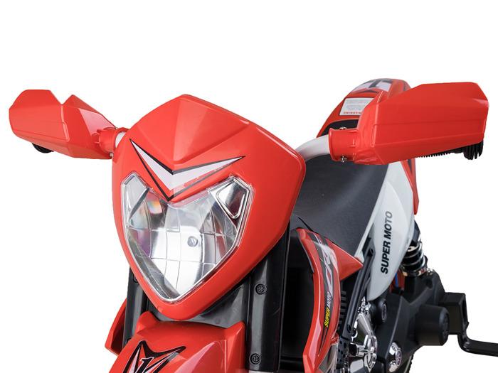 Ramiz elektrická motorka Cross s nafukovacími koly