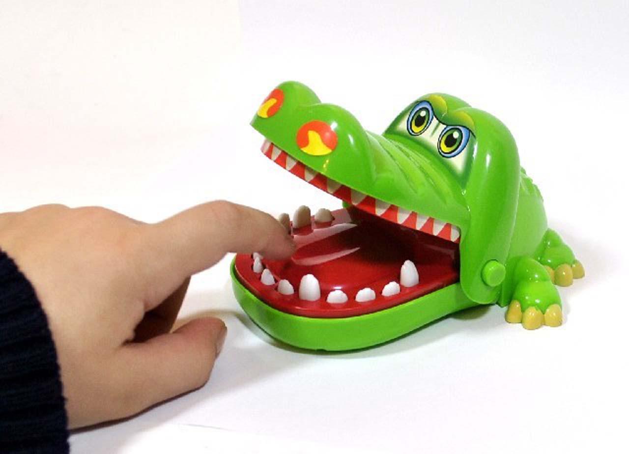 Hra krokodýl u zubaře