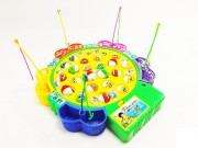 Dětská stolní hra Rybolov – 24 rybiček, 5 rybářských prutů