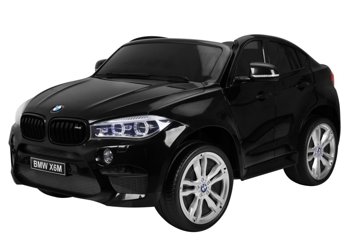 Elektrické autíčko BMW X6M 2 os. XXL - černé