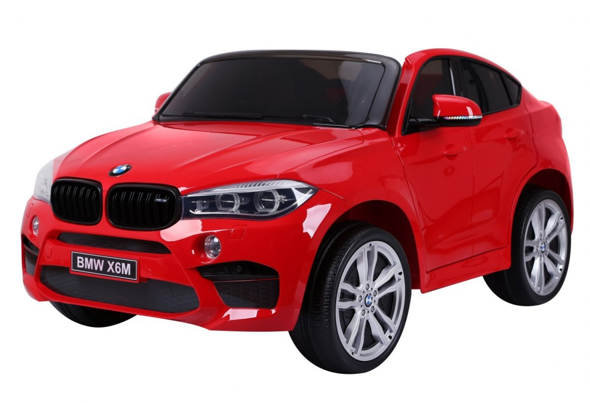 Elektrické autíčko BMW X6M 2 os. XXL - červené
