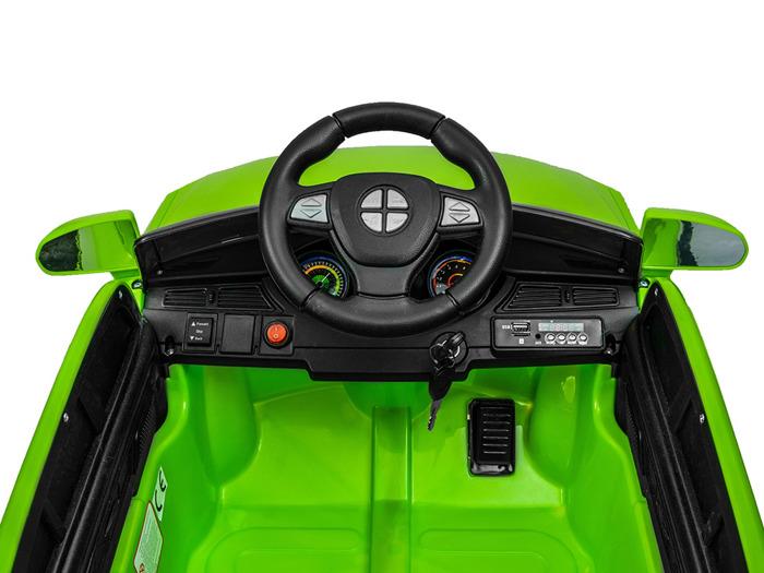 Elektrické autíčko Mesio, čalouněná sedačka, 2.4GHz