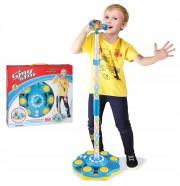 LED Mikrofon se stojanem pro kluky
