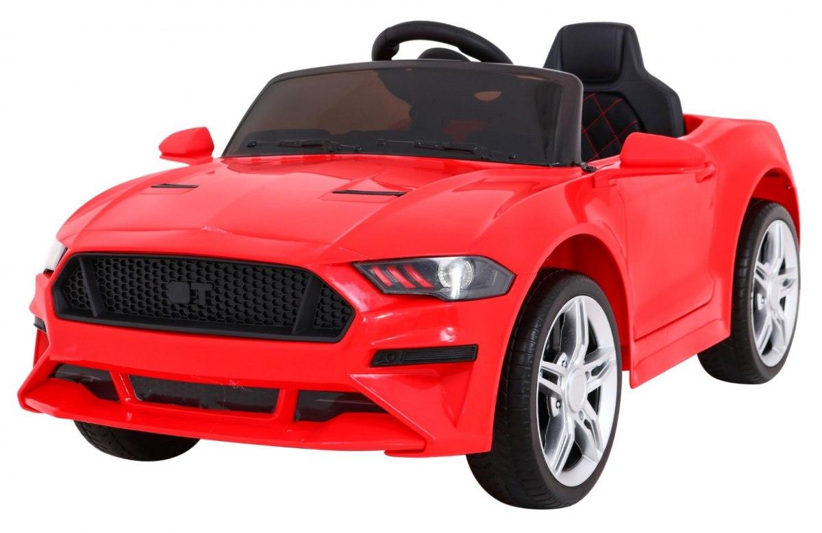 Dětské elektrické autíčko Mustang GT - červené