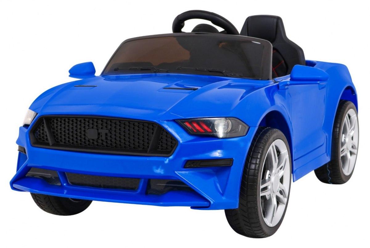 Dětské elektrické autíčko Mustang GT - modré