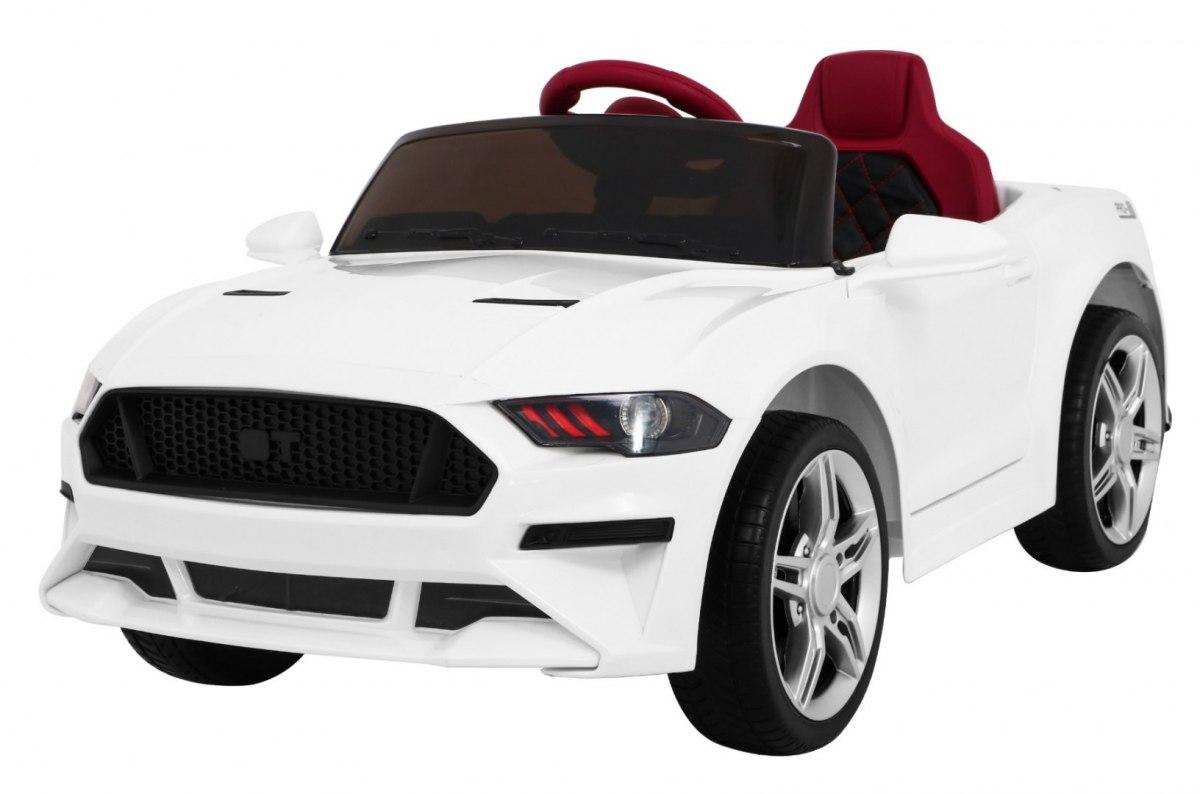 Dětské elektrické autíčko Mustang GT - bílé