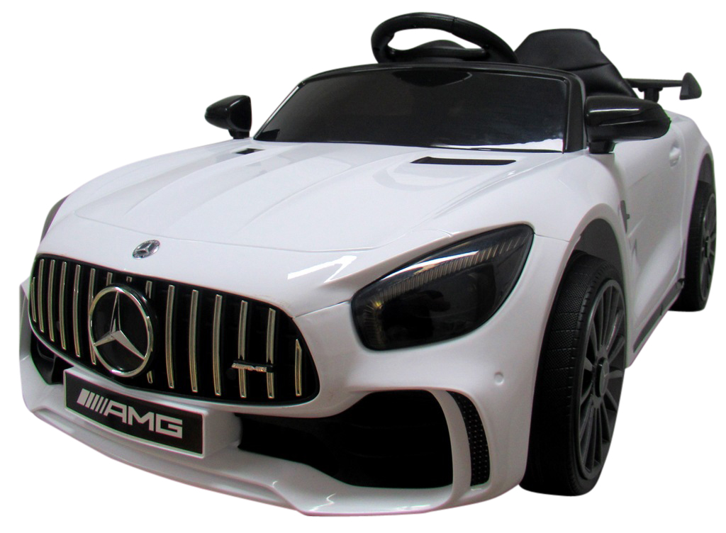 Elektrické autíčko Mercedes AMG GT R - bilé