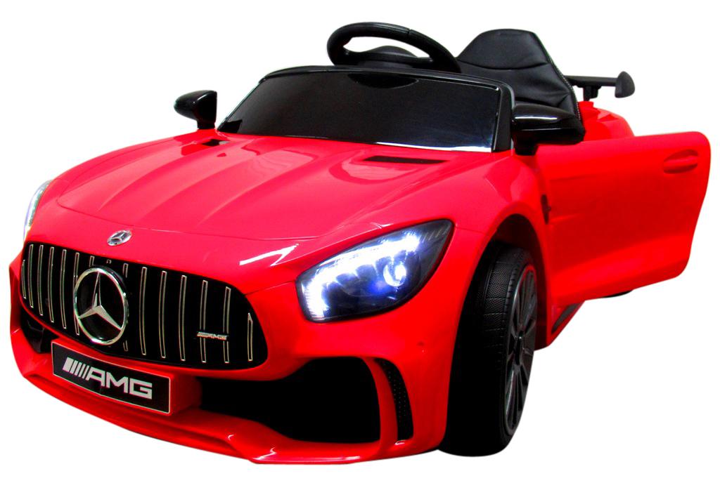 Elektrické autíčko Mercedes AMG GT R - červené