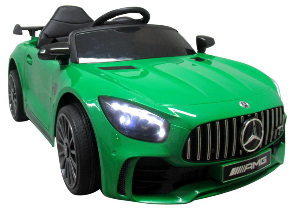Elektrické autíčko Mercedes AMG GT R - zelené