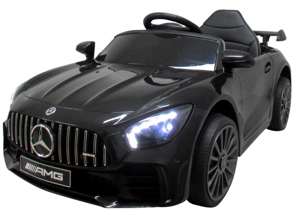 Elektrické autíčko Mercedes AMG GT R - černé