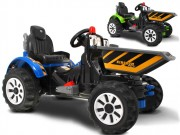 Dětský elektrický sklápěcí traktor