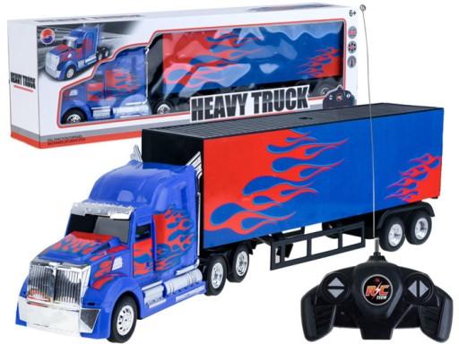 RC kamión s návěsem