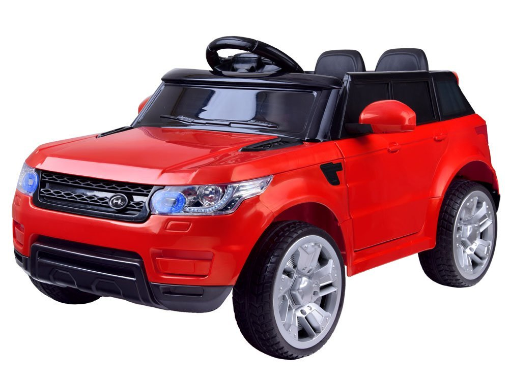 Elektrické autíčko Land Rapid Racer - červené EVA
