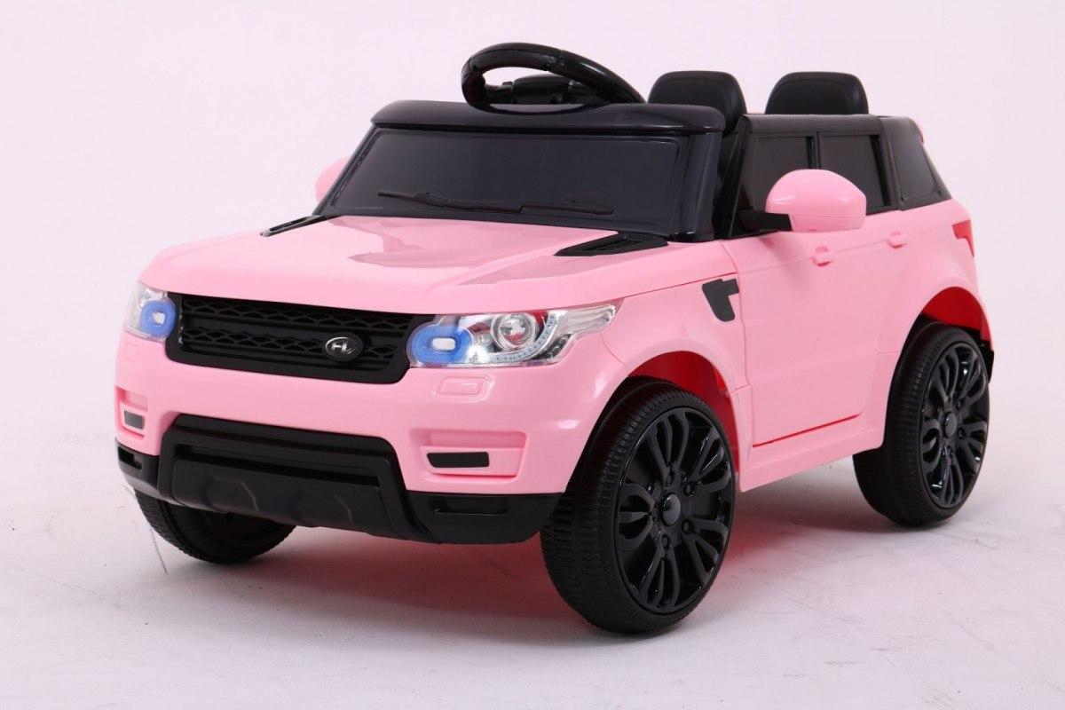 Elektrické autíčko Land Rapid Racer - růžové