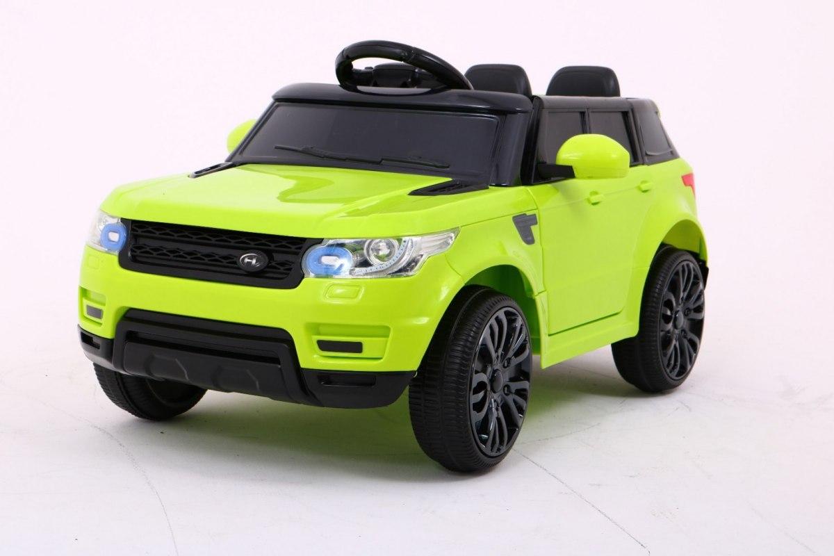HračkyZaDobréKačky Elektrické autíčko Range Rover - zelené EVA