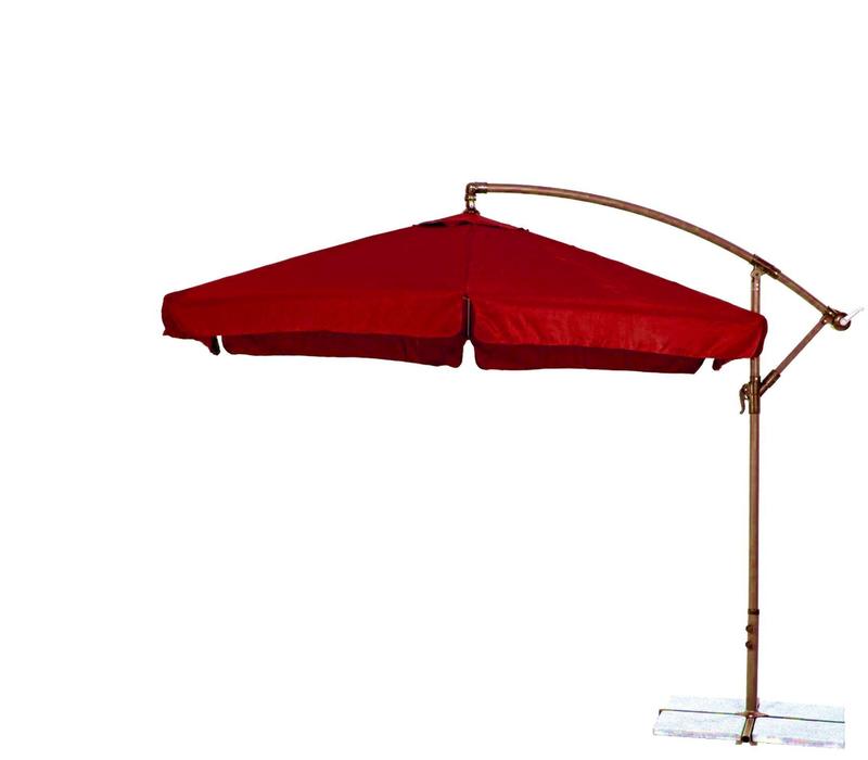 Zahradní slunečník konzolový 300 cm