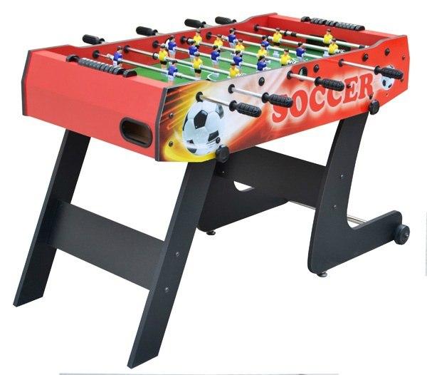Skládací stolní fotbal - červený