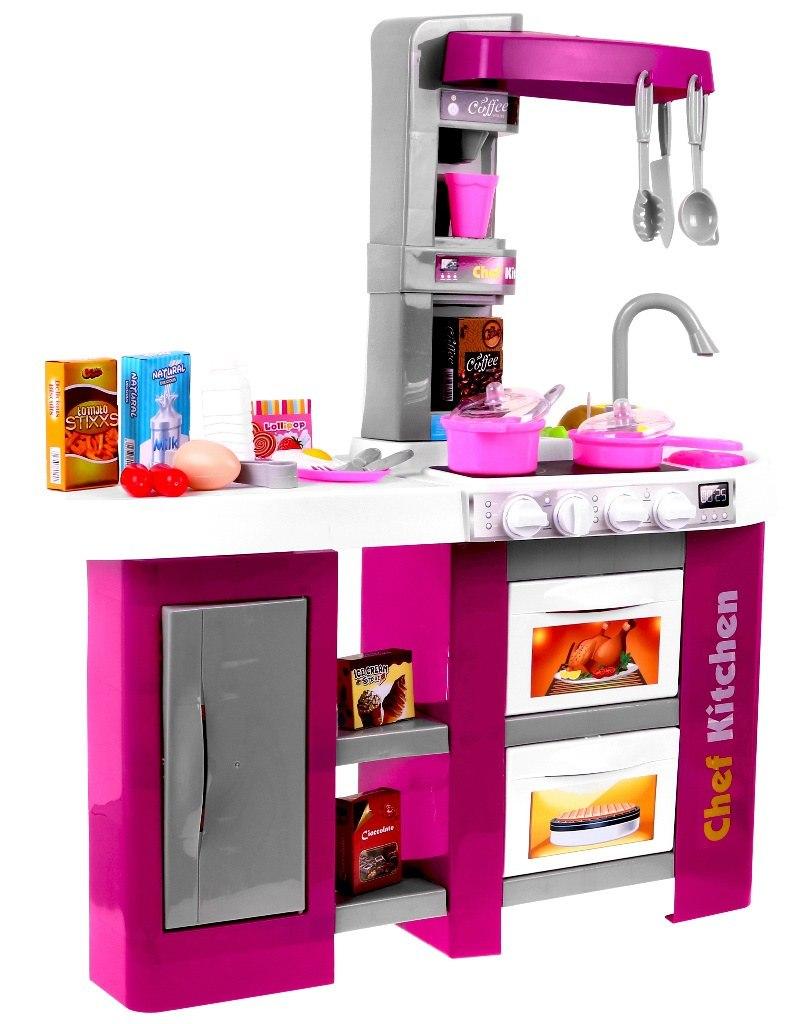 Dětská kuchyňka s lednicí a tekoucí vodou