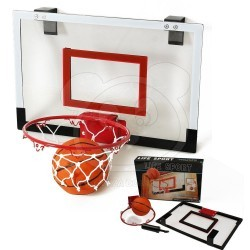 Basketbalový koš na dveře