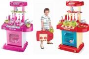 Dětská kuchyňka v kufříku, zvuky