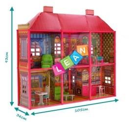 Velký domeček pro panenky s 6 pokoji