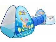 Dětský stan 3v1 Oceán