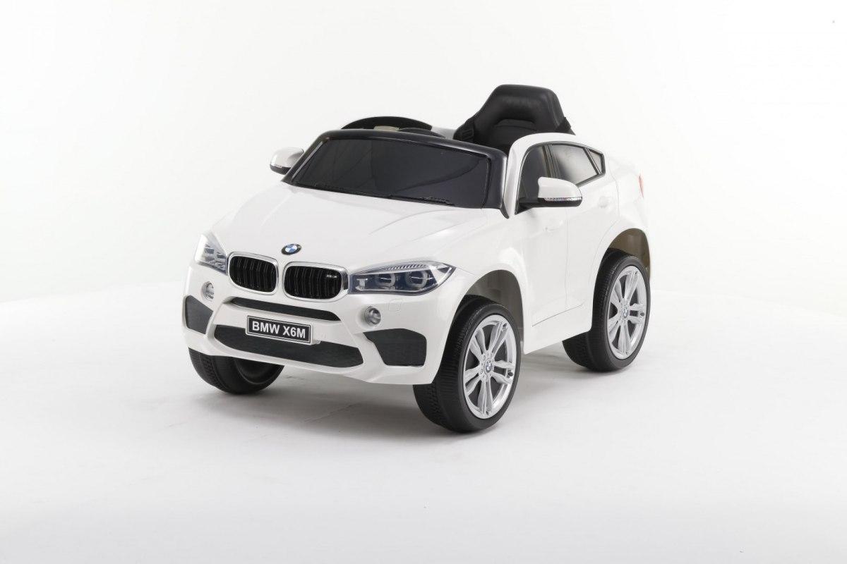 Elektrické autíčko BMW X6M - bílé