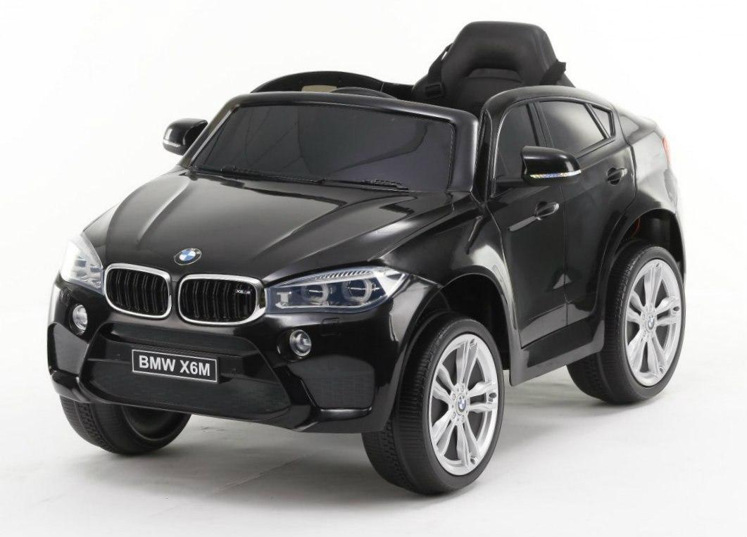 Elektrické autíčko BMW X6M - černé
