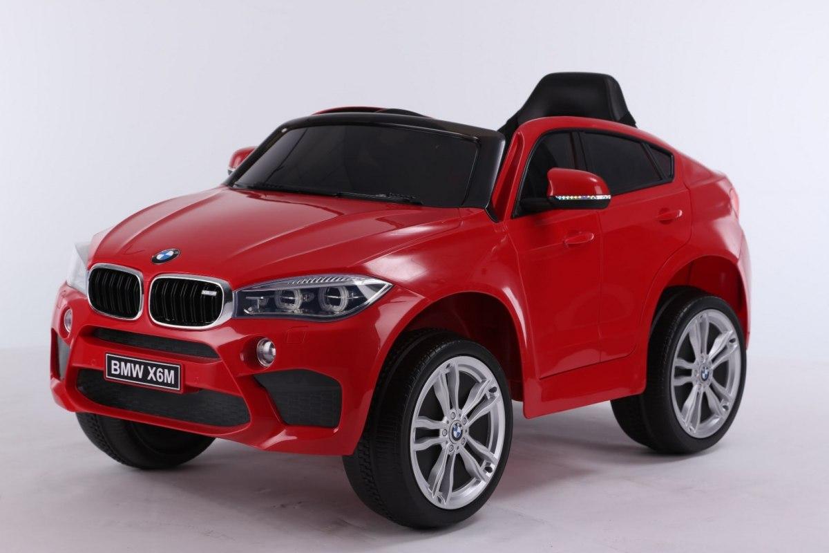 Elektrické autíčko BMW X6M - červené