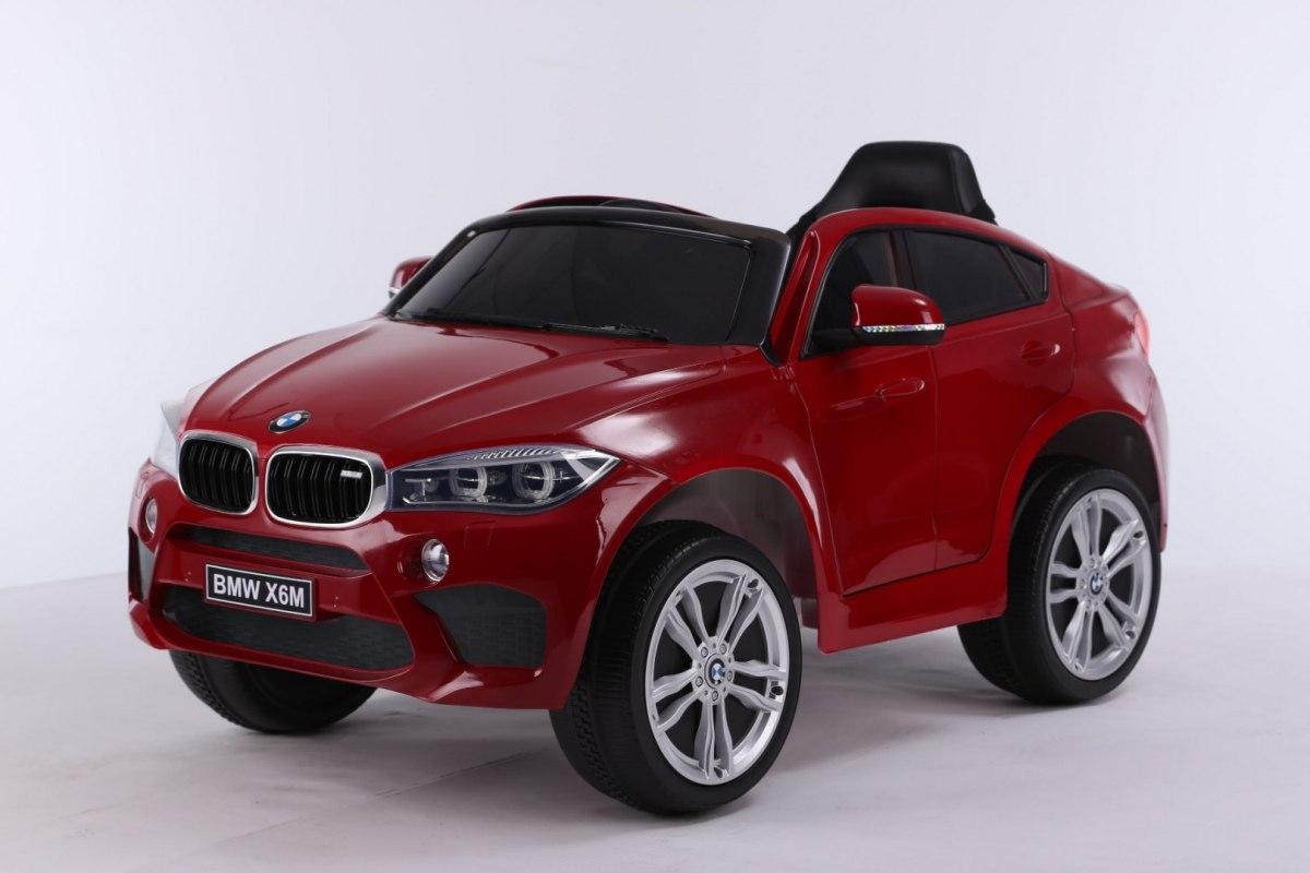 Elektrické autíčko BMW X6M - lakované červené
