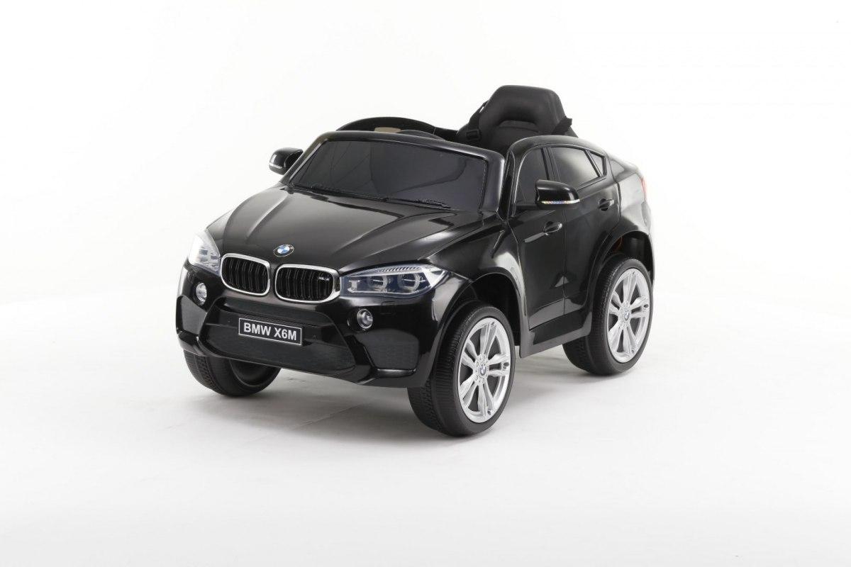 Elektrické autíčko BMW X6M - lakované černé