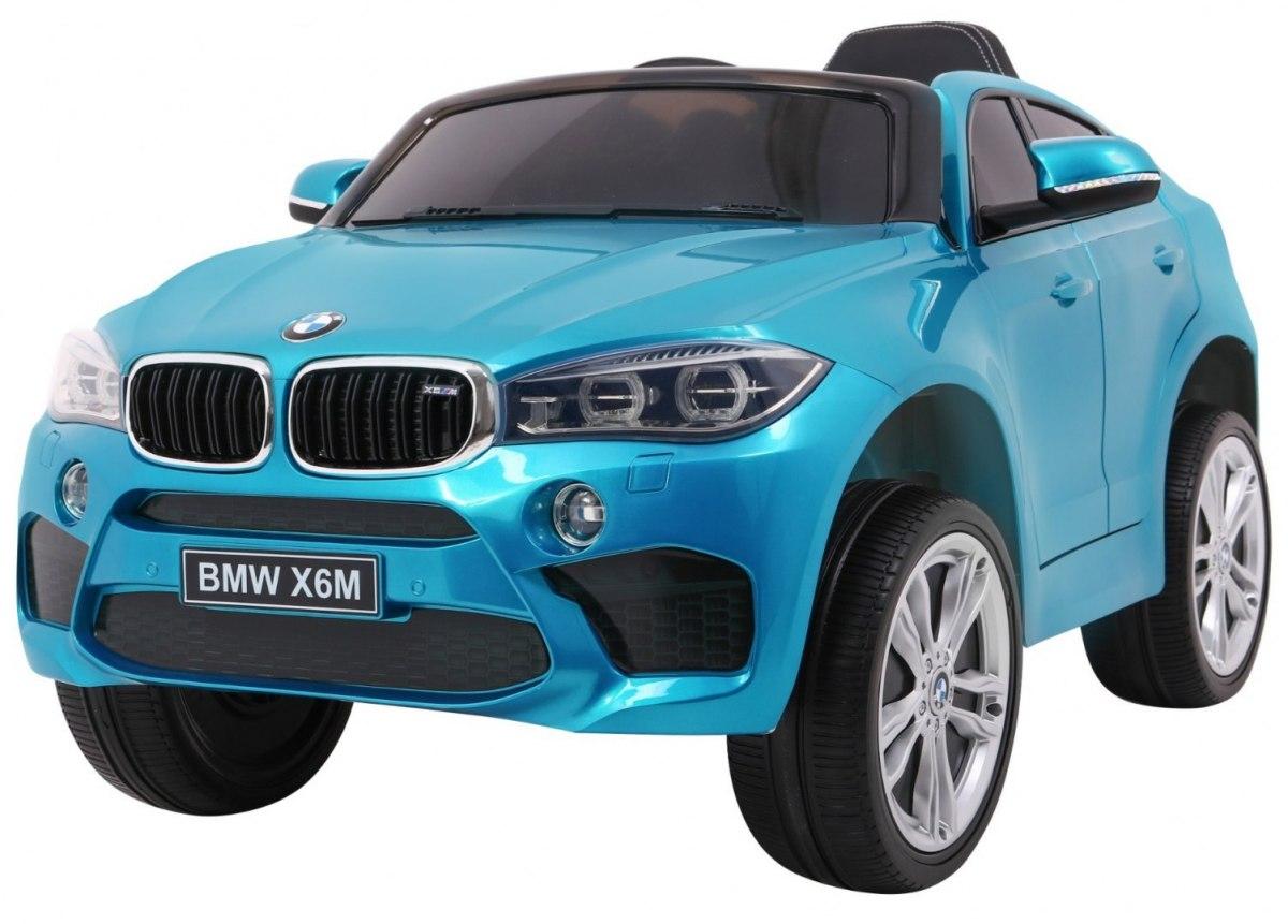 Elektrické autíčko BMW X6M - lakované modré