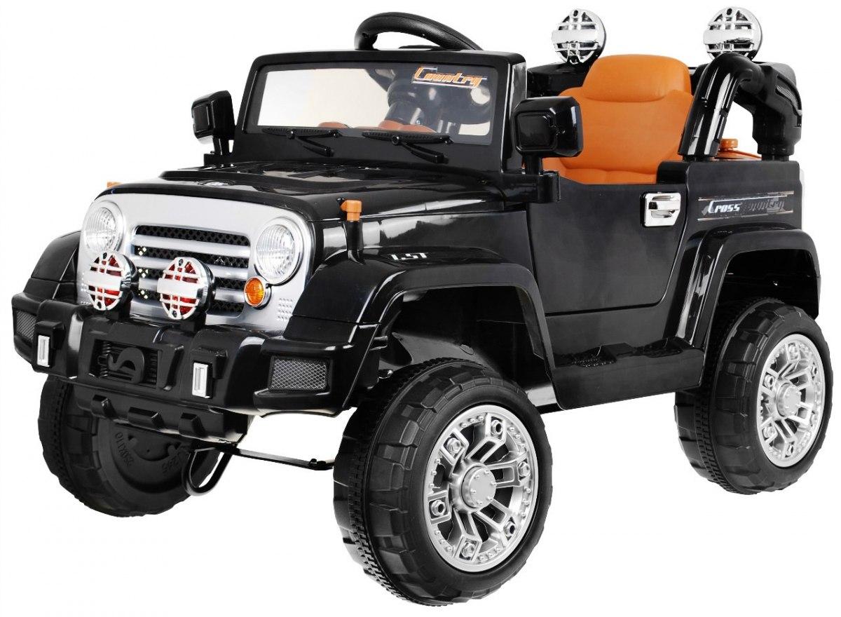 Elektrické autíčko Jeep JJ245 - černé