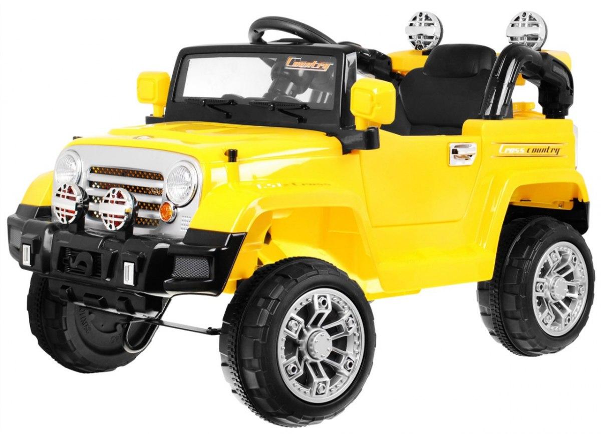 Elektrické autíčko Jeep JJ245 - žluté