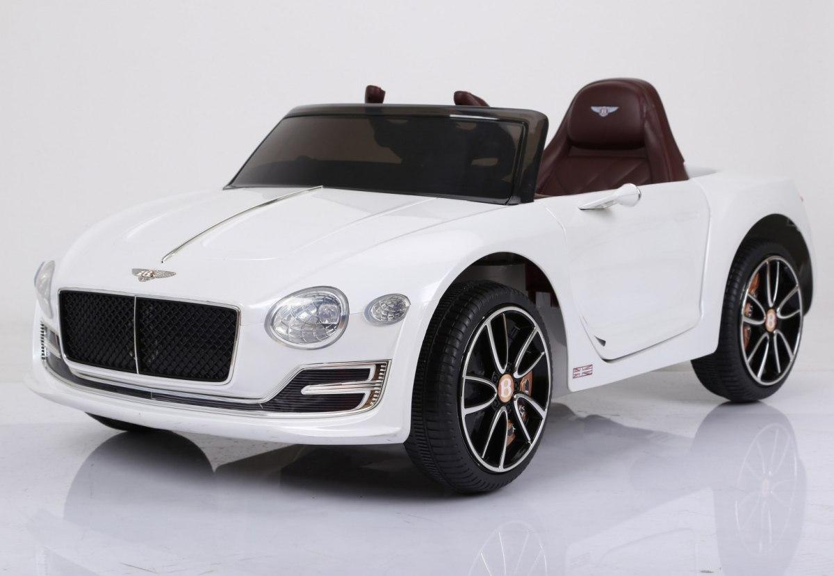 Dětské elektrické autíčko Bentley EXP12 - bílé