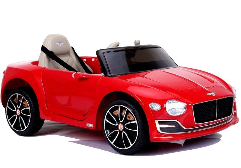 Dětské elektrické autíčko Bentley EXP12 - lakované červené