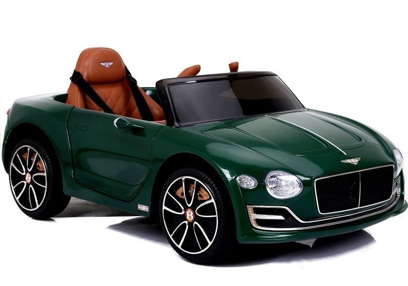 Dětské elektrické autíčko Bentley EXP12 - lakované zelené