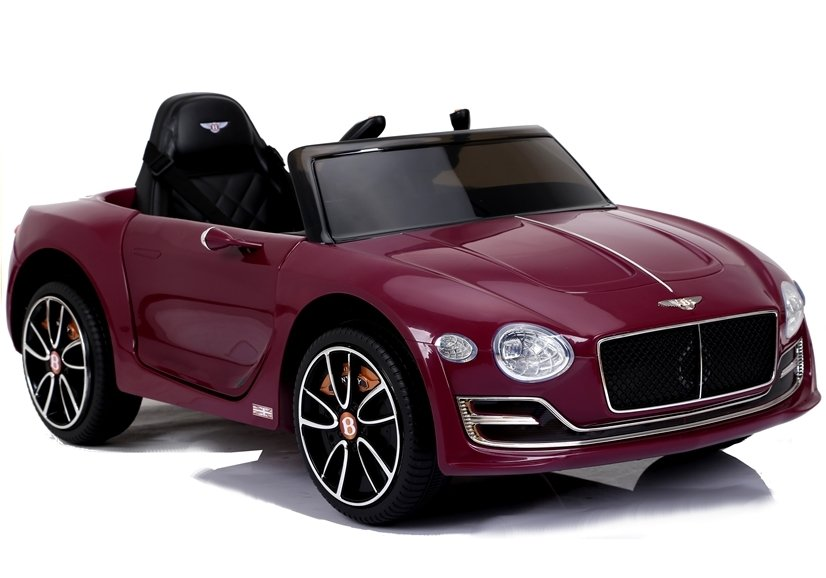 Dětské elektrické autíčko Bentley EXP12 - lakované vínové