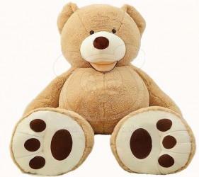 Velký medvěd XXL plyšák 140 cm světle hnědý