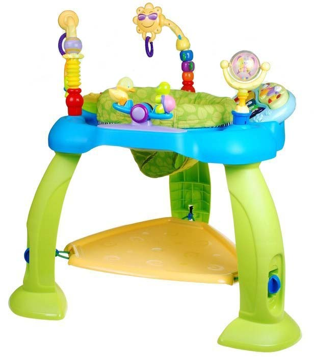 Dětské hopsadlo 3v1 - modré