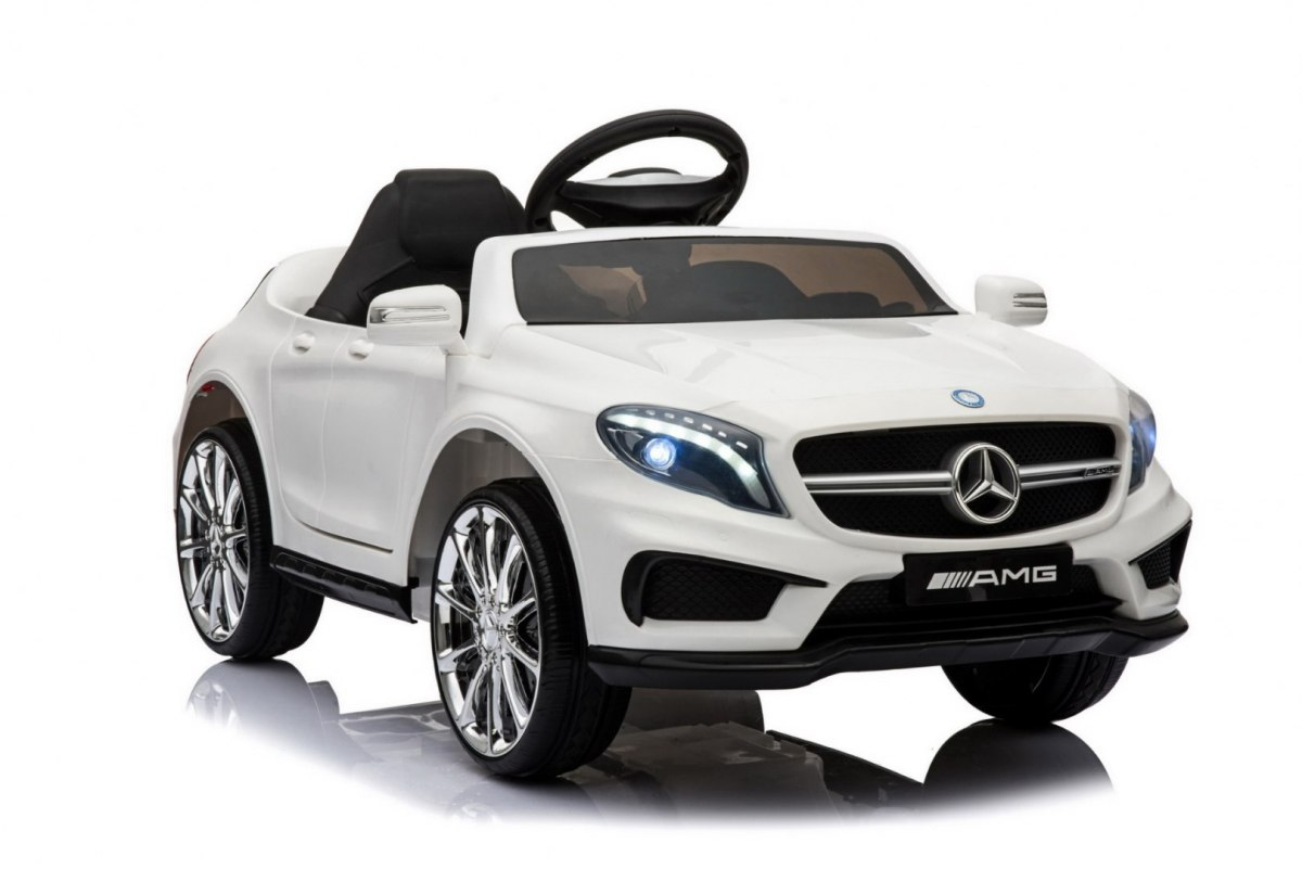 Elektrické autíčko Mercedes AMG GLA-45 - bílé