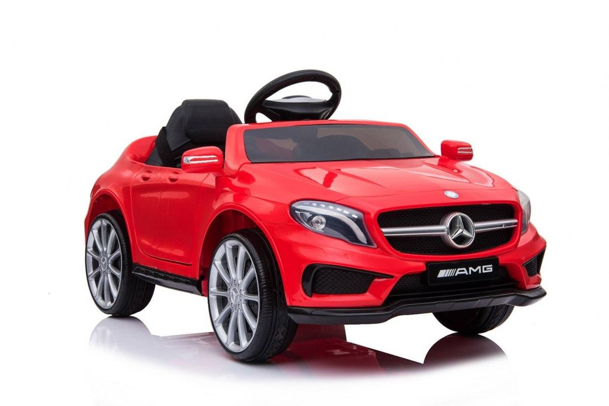 Elektrické autíčko Mercedes AMG GLA-45 - červené